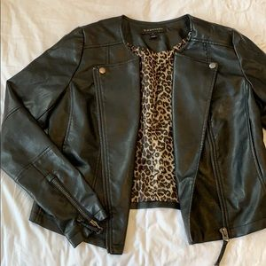 Faux Leather Moto Jacket - Vegan Friendly!